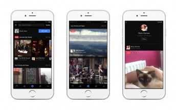 Facebook bets big on live video, gives it a new tab in its mobile apps