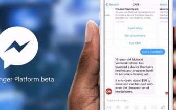 Facebook's Messenger Platform is now open for bots