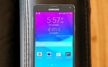 Samsung Galaxy Note 4 (32GB, Verizon unlocked) selling for $300