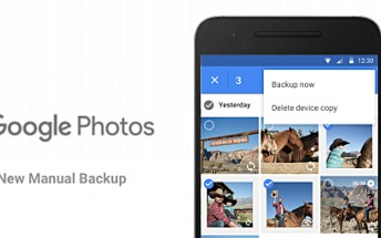 Google Photos for Android gets updated with manual backup feature