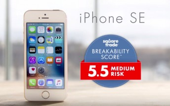 iPhone SE's durability gets tested in another video, see it swim, tumble, bend, and drop onto a sidewalk