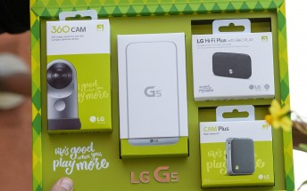LG G5 arrives with Friends, we do the unboxing