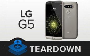 LG G5 gets an awesome 8/10 repairability score from iFixit