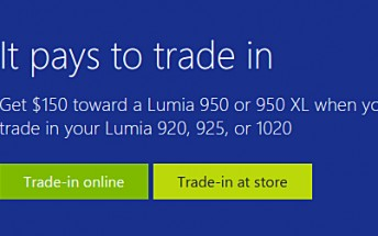 Deal: Trade-in your Lumia 920/925/1020 and get $150 discount on Lumia 950/950 XL