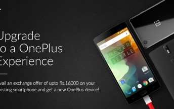 OnePlus offering discounts up to $240 through its newly-launched trade-in program
