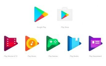 Google updates Google Play icons