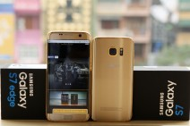 Gold-plated Samsung Galaxy S7 and S7 edge by Karalux