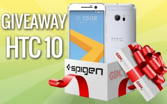 GSMArena HTC 10 giveaway: the lucky winner has been drawn!