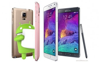 Telus announces Marshmallow rollout dates for Galaxy S5 and Note 4