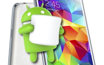 Android Marshmallow now available for the Galaxy S5 LTE-A