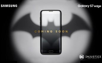 Samsung teases Batman-themed Galaxy S7 limited edition