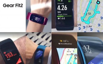 Samsung Gear Fit 2 leaks again in even more hands-on pictures