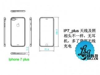 Apple iPhone 7 Plus diagrams