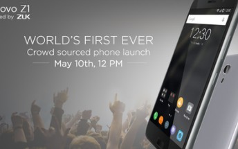 Lenovo Z1 (ZUK Z1)  India launch confirmed for May 10