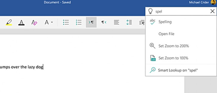 Update brings 'Tell Me' feature to Microsoft Word, Excel