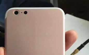 Alleged rose gold iPhone 7 rear case leaks showing single camera, new antenna lines