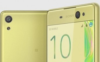 Sony Xperia XA Ultra is now selling in the UK
