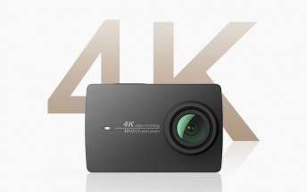 YI 4K Action Camera up for pre-order in US, launching tomorrow