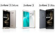 Asus ZenFone 3, ZenFone 3 Deluxe, and ZenFone 3 Ultra to go on sale next month