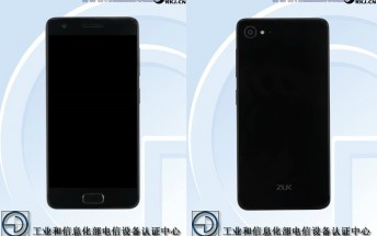 ZUK Z2 goes through TENAA ahead of its May 31 unveiling, images and specs outed