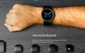 Pre-orders for Blocks modular smartwatch are now live
