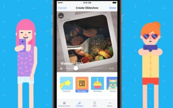 Facebook Slideshow automatically creates movies from your photos and videos