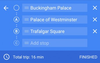 Google Maps now takes you from point A to point B to point C with support for multiple destinations
