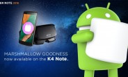 Lenovo K4 Note starts receiving Marshmallow update