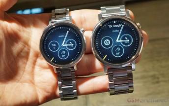 Motorola won't be launching new smartwatches in near future