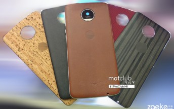 Moto Z backs to add X-like class with leather, wood and more