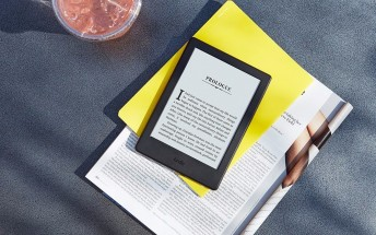Amazon intros new thinner, lighter entry-level Kindle with more storage