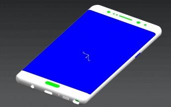 Exclusive: Samsung Galaxy Note7 renders