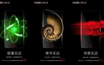 ZTE teases 'borderless' nubia Z11 ahead of tomorrow's unveiling