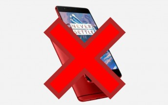 OnePlus officially denies red color option for the 3