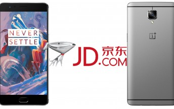 OnePlus 3 sold out at China's largest online retailer in just 10 minutes