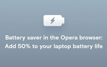Opera's battery saver feature is now out of beta and available to all desktop users