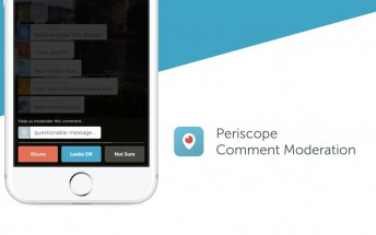 New Periscope update brings comment moderation