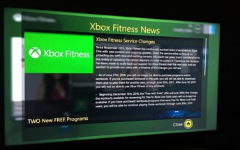 Microsoft is pulling the plug on its Xbox Fitness service