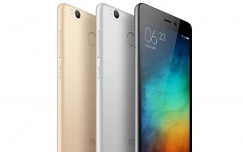 Xiaomi Redmi 3X announced, is merely a rebranded Redmi 3s
