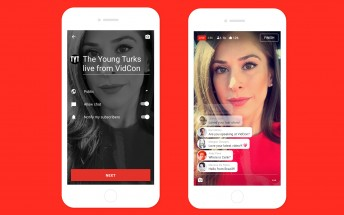 YouTube will soon let you live stream using its mobile app