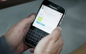 BlackBerry Classic's discontinuation confirmed by the company