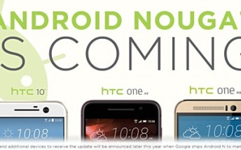 HTC reiterates that One A9, One M9, and 10 will get Android Nougat update, but still doesn't say when