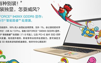 Lenovo takes on Xiaomi's Mi Notebook Air with its own Air 13 Pro laptop