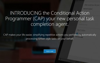 CAP is a new natural language IFTTT alternative from Microsoft