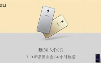 Meizu MX6 scores 3.2 million registrations in one day