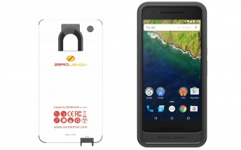 ZeroLemon's new Nexus 6P battery case promises to almost triple the phone's battery life