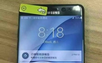 Samsung Galaxy Note7 will be waterproof, yet another live image surfaces