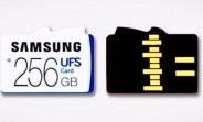 Samsung's designed a slot that can take both UFS and microSD cards