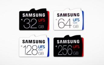 Samsung introduces world's first UFS card line-up