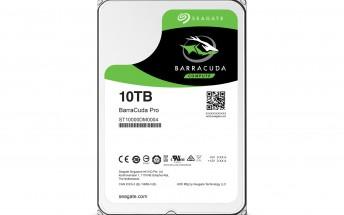 Seagate announces 10TB desktop hard drive